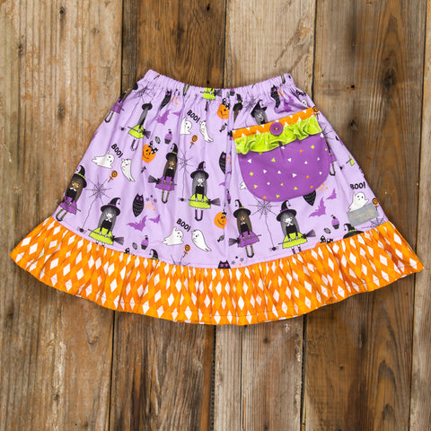 Bewitched Violet Skirt