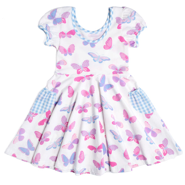 Butterflies Hadley Dress