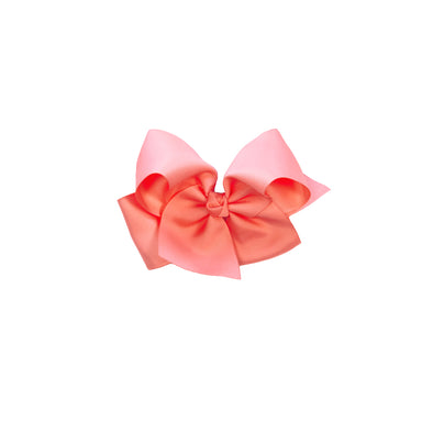Coral Medium Classic Bow
