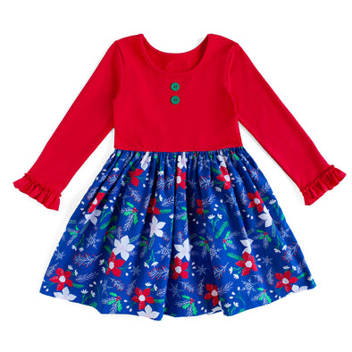 Poinsettia Rhonda Dress