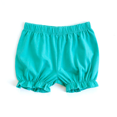 Turquoise Knit Bloomers