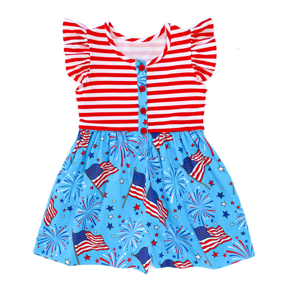Grand Old Flag Rhonda Romper