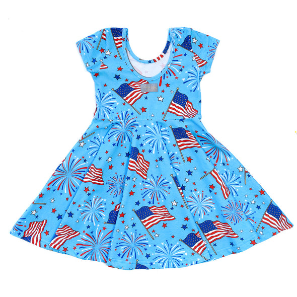 Grand Old Flag Annie Dress