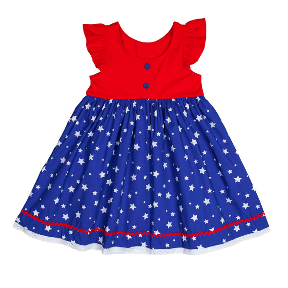 Liberty Stars Kirby Dress