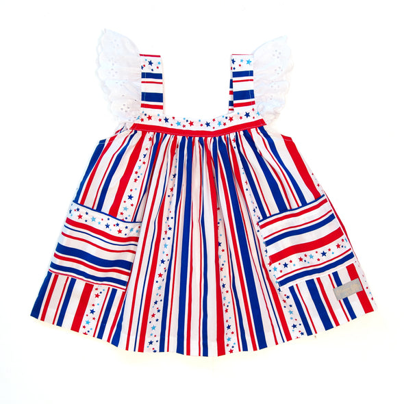 Star Spangled Lettie Top