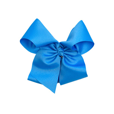 April Showers Large Blue Classic Bow