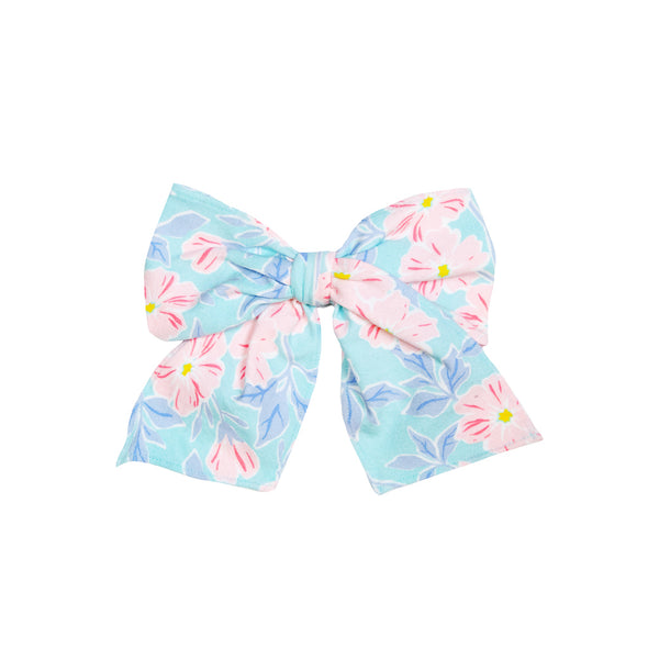 Almond Blossom Floral Sonni Fabric Bow