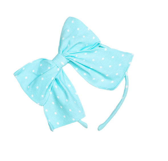 Aqua Bunnies Bea Headband