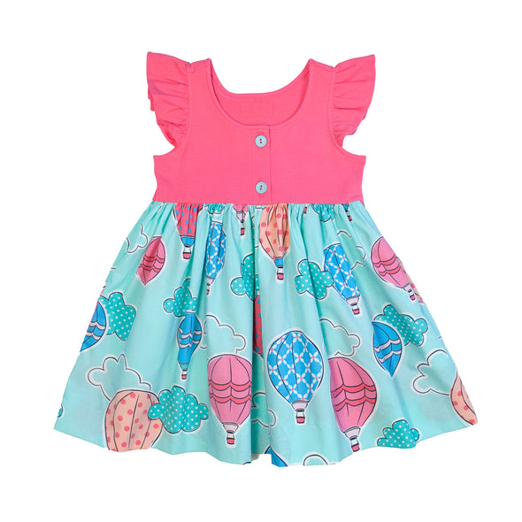 Hot Air Balloons Kirby Dress