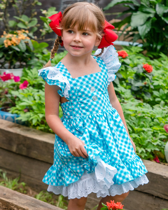 Ladybug Dolly Dress