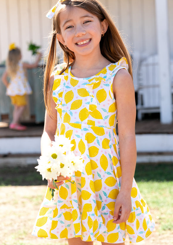 White Lemons Knit Demi Dress