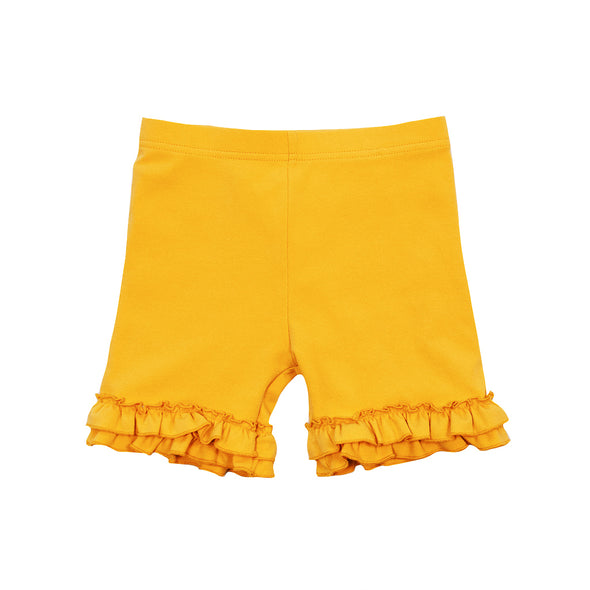 Yellow Knit Brailey Shorties