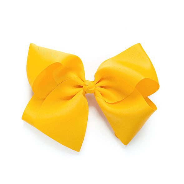 Classic Large Yellow Bow