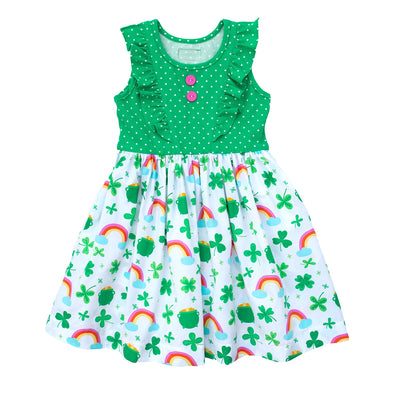 Lucky Shamrock Rhonda Dress