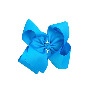 Large Classic Turquoise Bow