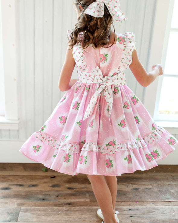 Vintage Rose Glenda Dress