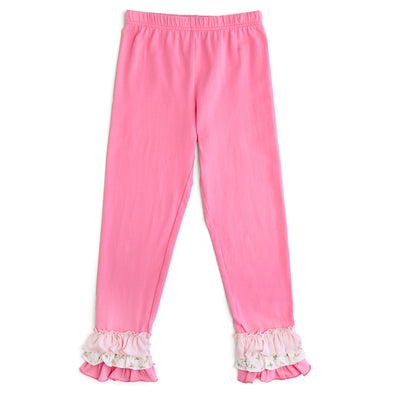 Pink Knit Legging