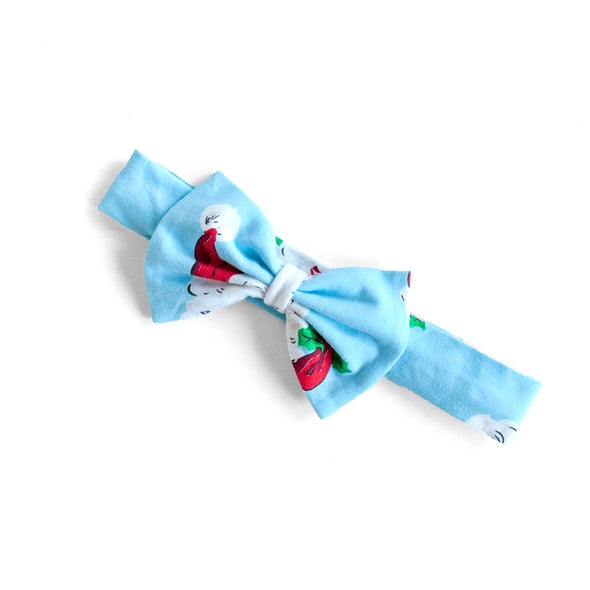 Blue Santa Hope Headband