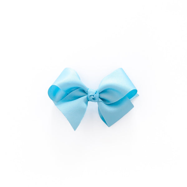 Spring Break Blue Small Classic Bow