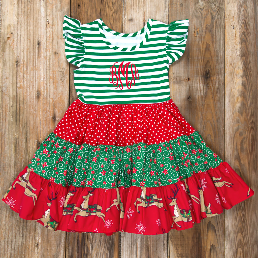 Cyber Monday Surprise Rhonda Reindeer Dress