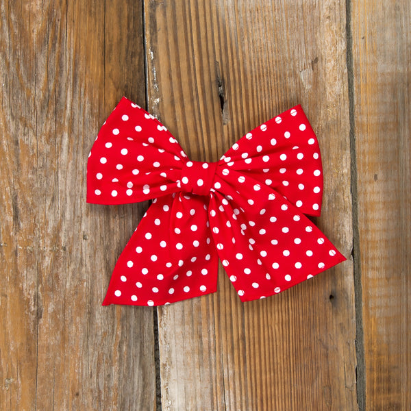 Cyber Monday Surprise Sonni Red Dot Bow