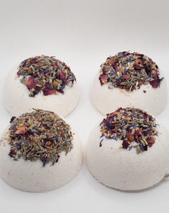 Bubbling Bath Bombs - PEONY SCENTED