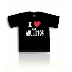 """I Love My Abuelitos"" Kids T-Shirt"