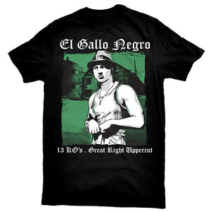 """El Gallo Negro Black Rooster"" T-Shirt"