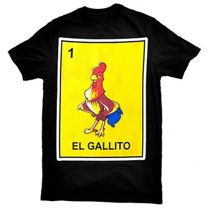 """El Gallito"" Loteria Kids T-Shirt"