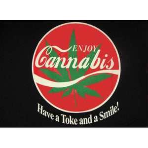 """Enjoy Cannabis"" T-Shirt"