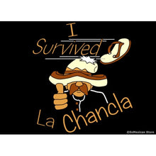 "Load image into Gallery viewer, ""I Survived La Chancla"" T-Shirt"