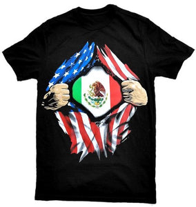 """Mexican-American Pride"" T-Shirt"