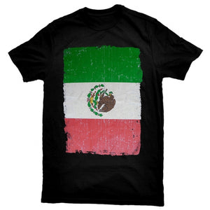 """Mexican Flag"" T-Shirt"