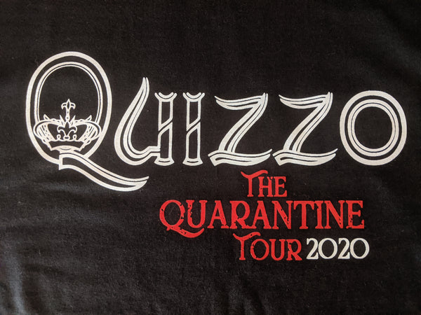 Quizzo Quarantine Tour 2020 T-shirt