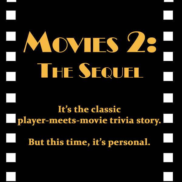 Quizzo Carry-Out Quiz: Movies 2: The Sequel Quiz