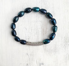 Load image into Gallery viewer, Tahitian Pearl Bracelet