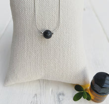Load image into Gallery viewer, Floating Lava Stone Necklace