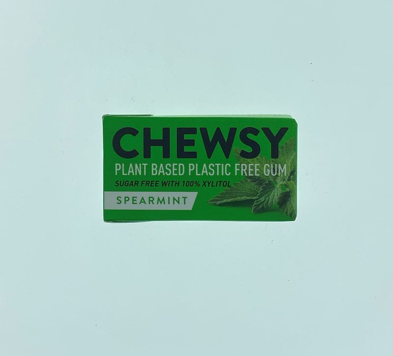 Chewsy Spearmint - Plastic Free Chewing Gum