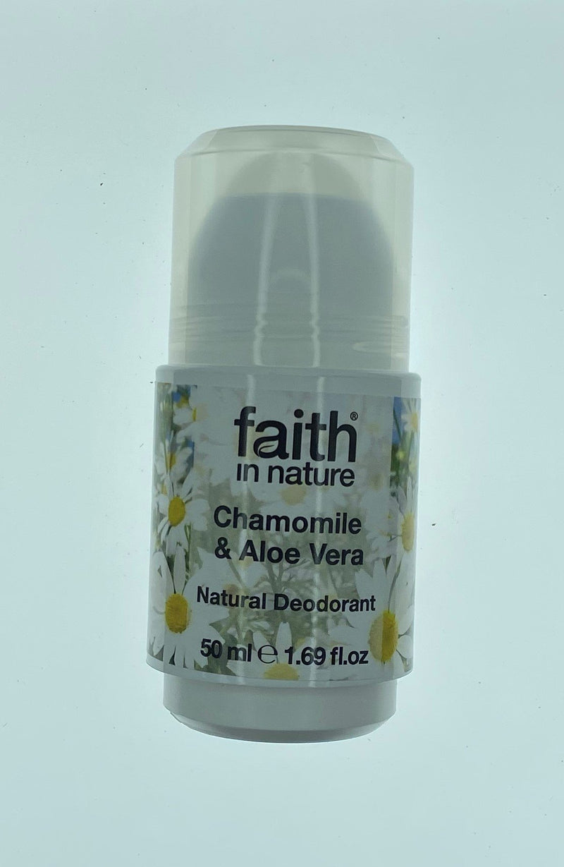 Faith in Nature Aloe Vera & Chamomile Roll-On Deodorant
