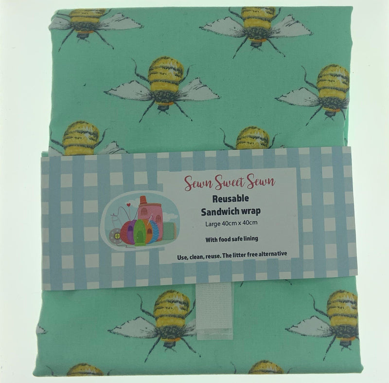 Sewn Sweet Sewn Sandwich Wrap Large