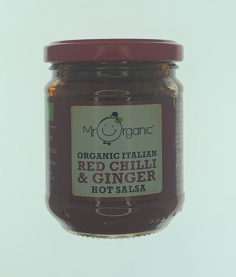 Mr Organic Chilli Ginger Salsa - 200g
