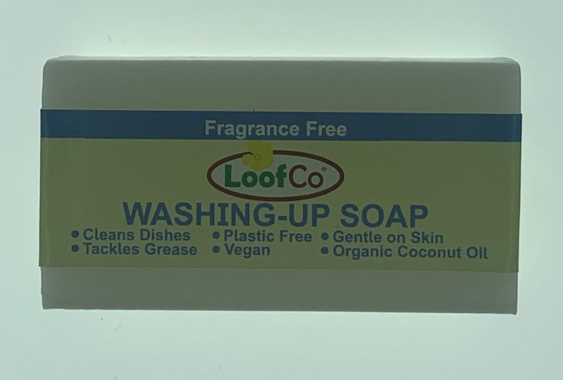 Loofco Washing up Soap Bar Fragrence Free - 100g