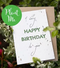 Plantable A Very Happy Birthday A6 Card