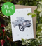 Plantable Land Rover Greeting Card