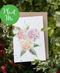Plantable Happy Birthday Card Roses