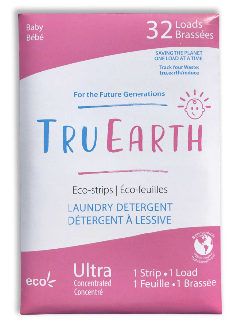TruEarth Laundry Eco-Strips - Baby x 32 strips