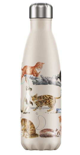 Chilly's Emma Bridgewater Cats Water Bottle 500ml
