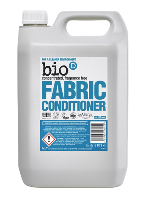 5L Bio D Fabric Conditioner - Fragrance Free