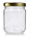 212ml Medium Jar - Gold Lid