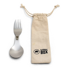 Spork and Cotton Bag